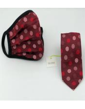 Tie Set Red Dot