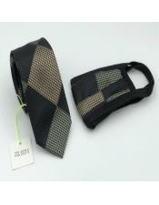 Tie Set Olive Green
