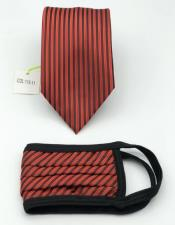 Tie Set Red And