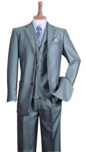 Three Buttons Style Suit