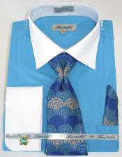 Blue Colorful Mens Fashion