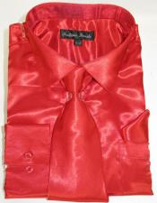 Red Colorful Mens Dress