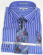 Pinstripe Colorful Mens Fashion