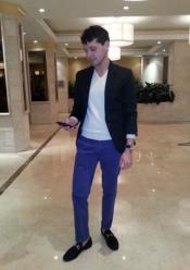 Blazer Blue Pants