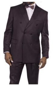 Steve Harvey Suits Plum