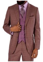 Steve Harvey Suits Mauve