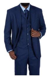 Steve Harvey Suits Blue