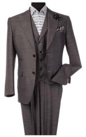 Steve Harvey Suits Gray