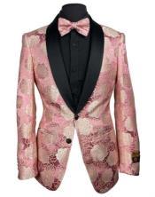 Blazer - Pink Tuxedo