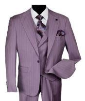 Adams Suits Purple Stripe
