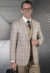 Suit - Windowpane Suit