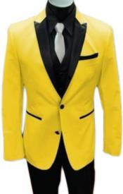Tuxedo Suit + Black