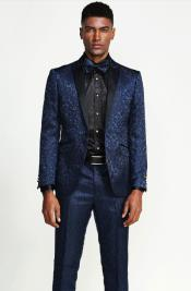 Suit - Midnight Blue