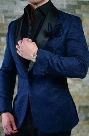 Blue Tuxedo - Paisley
