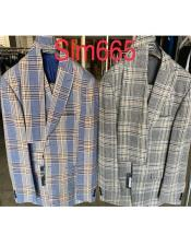 Plaid Suit - Checkered