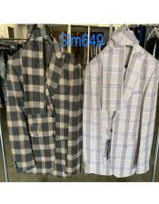 Plaid Checkered Suit -