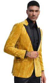 Gold Tuxedo Jacket with
