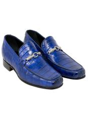 Mauri Royal Blue Alligator