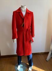 Length Overcoat - Wool