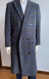 Breasted Overcoat - Wool