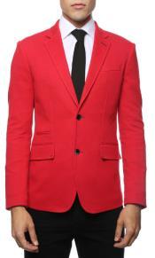 Red Blazer - Red