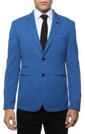 Blue Blazer - Blue