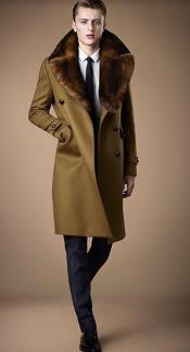 Collars Mens Overcoat -