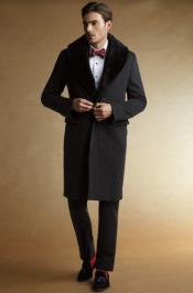 Collars mens Overcoat -