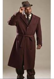 Belted Overcoat - Wool
