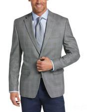 Grey Blazer - Plaid