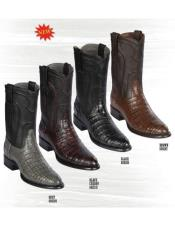 Altos Caiman Belly Boots