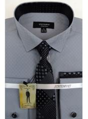 Grey Dress Shirts with