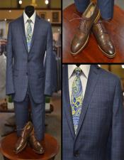 Blue Plaid Suit -