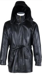 Men's big/tall sizes Leather with polyester lining Alberto Nardoni Coming