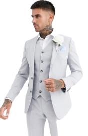 Grey Wedding Suit -
