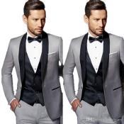 Light Grey Wedding Suits
