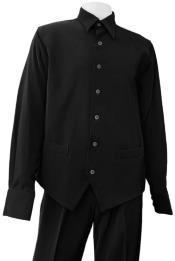Leisure Suit + Black