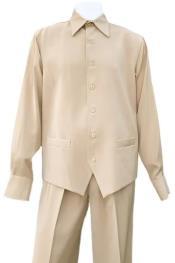 Sleeve Walking Casual Suit