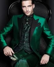 Blazer - Emerald Green