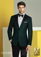 Green blazer - Emerald