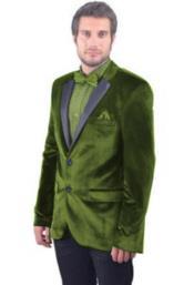 Green Tuxedo - Black