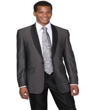Dark Grey Tuxedo - Dark Gray Tuxedo