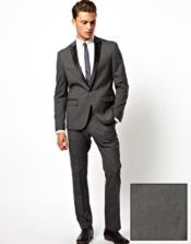 Grey Tuxedo - Dark