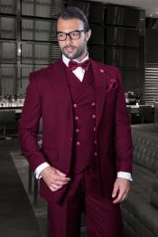 Fit Suit - Burgundy