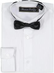 White Tuxedo Shirt and
