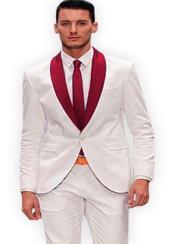 and White Lapel Tuxedo