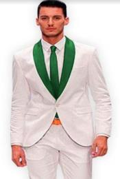 and Hunter Green Lapel