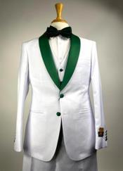 Emerald Green Suit -