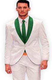 and Hunter Green Tuxedo