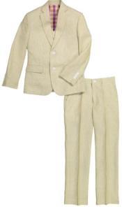 Linen Suit - Toddler